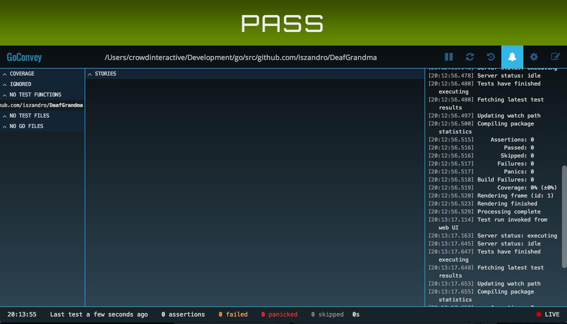 GoConvery web UI
